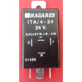 99188 NAGARES ΒΑΡΕΛΑΚΙ ΦΛΑΣ 24 Volt 4 PIN