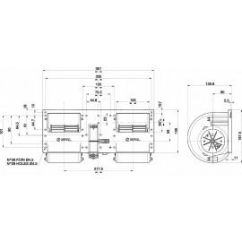 006-B40-22  SPAL ΜΟΤΕΡ 24V