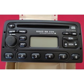 Ford 6000 CD RDS E-O-N 6000 NE CD Car Radio Tuner Black