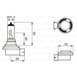 H11 TRIFA 12 VOLT PGJ19-2